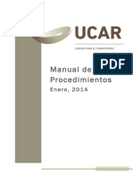 Manual de Procedimientos UCAR
