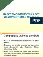 Composicao Quimica Das Celulas