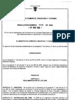 RESOLUCIÓN_3205_DE_2008_-_REGLAMENTO_CRM
