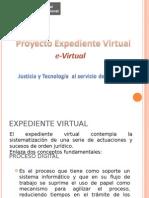 Proyecto Expediente Virtual / e-Virtual