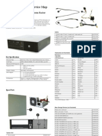 Partes y Mapa Servicio HP DC5800SFF