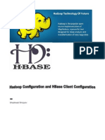 Configure HBase Hadoop and Hbase Client