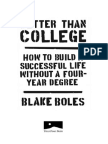 Better Than College - Excerpt