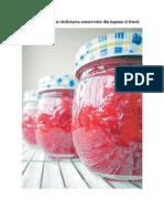 Comercializarea si etichetarea conservelor din legume si fructe