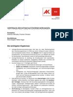 Vertragsrechtsschutzversicherung2010