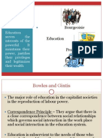 Marxist Perspective on Education