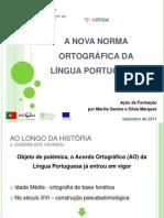 A NOVA NORMA ORTOGRÁFICA DA LÍNGUA PORTUGUESA
