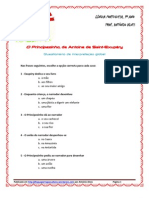 O Principezinho - Quest. Interp. Global Esc. Mult. (Blog9 10-11)