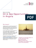 Oil & Gas Opportunities in Angola
