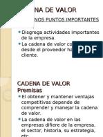 4_26 La Cadena de Valor....