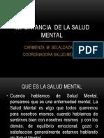 Import an CIA de La Salud Mental y Autoestima