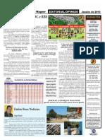 página -2 do Jornal Alfredo Wagner
