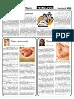 página -8 do Jornal Alfredo Wagner