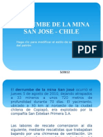 Derrumbe de La Mina San Jose - Chile