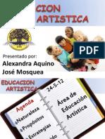Presentacion Educacion Artistica