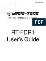 RT-FDR1 User Guide