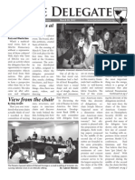 [HACIA 2012] the Delegate Issue 2