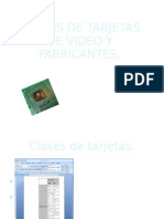 Clases de Tarjetas de Video y Fabric Antes