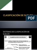 CLASIFICACIÓN DE SUELOS - ANÁLISIS GRANULOMÉTRICO