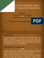 DISEÑO DE LOS GENERADORES DE VAPOR