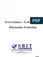 B.tech MDU Syllabus (IT)