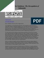Study Guide for Kalidasa