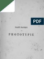 Traité pratique de Phototypie Par GEYMET - 1888