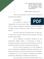RESOLUCIÓN GENERAL N° 3333 (AFIP)