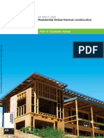 As 1684.3-2010 Residential Timber-framed Construction Cyclonic Areas