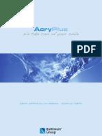Ruthinium Acry Plus Mould Chart