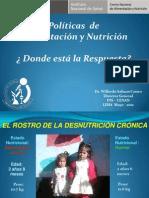 Políticas de Alimentación y Nutrición ¿ Donde está la Respuesta?