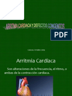 Arritmias Cardiacas y Defectos Congenitos