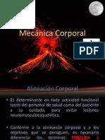 Mecánica Corporal