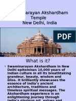 an Akshardham Temple in New Delhi, India