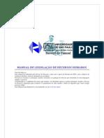 Manual de Legislação de Recursos Humanos