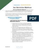Guia de uso Serv. Médicos