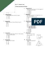 Latihan UAS Matematika Kelas VI