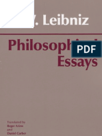 Leibniz - Philosophical Essays