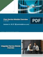 Cisco Service Module Overview