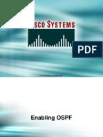 25.6 Enabling OSPF