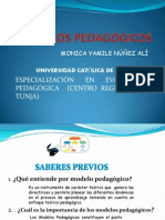 TRABAJO MODELOS PEDAGÓGICOS