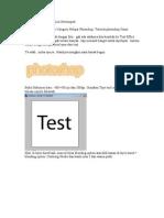 Membuat Text Dengan List Bertumpuk