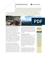 Environmental Governance Indonesia April2012