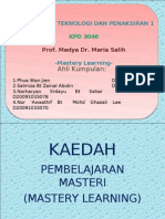 Mastery Learning Pp