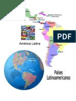 Mapa de Paises Latinoamericanos