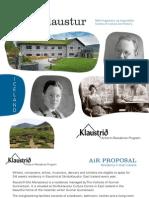 AiRKlaustrid Residency in Iceland