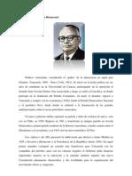 Biografía Rómulo Betancourt