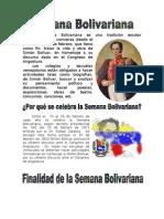 Semana Bolivariana