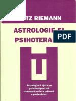Fritz Riemann - Astrologie Si pie