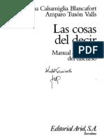 Calsamiglia-y-Tuson-Las-cosas-del-decir-Cap-1-al-4